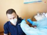 Pierwsi lublinieccy policjanci zostali już zaszczepieni przeciwko Covid-19