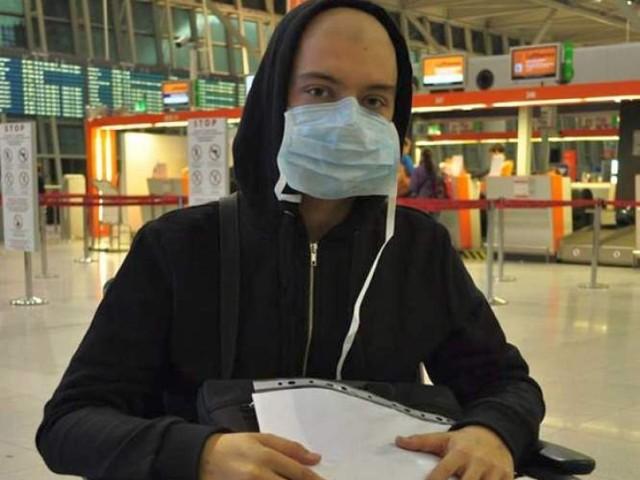 19-latek z Lublina poleciał w niedzielę do Stanów Zjednoczonych. ...