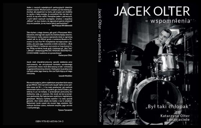 """Dziś wieczorem pilska biblioteka zaprasza na rozmowę o książce """"Był taki chłopak. Jacek Olter - wspomnienia"""" Katarzyny Olter"""