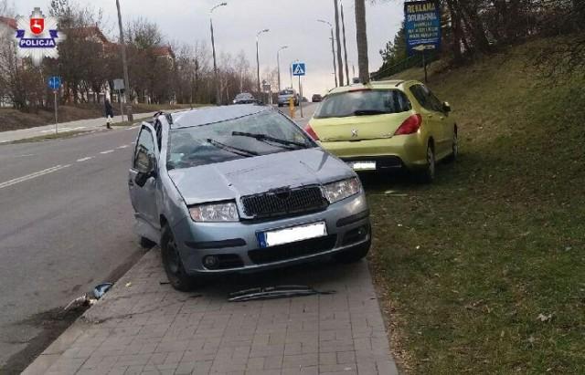 Chełm. Spowodował wypadek i uciekł, policja poszukuje kierowcy