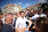 Rafał Trzaskowski w Bytomiu mówił o Śląsku i transformacji regionu ZDJĘCIA