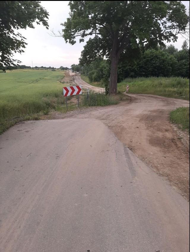 Tak wygląda droga obecnie