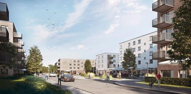 Wizualizacja nowego osiedla w Szopienicach