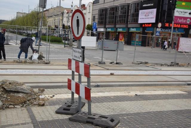 Przebudowa linii tramwajowej w Częstochowie  Zobacz kolejne zdjęcia. Przesuwaj zdjęcia w prawo - naciśnij strzałkę lub przycisk NASTĘPNE