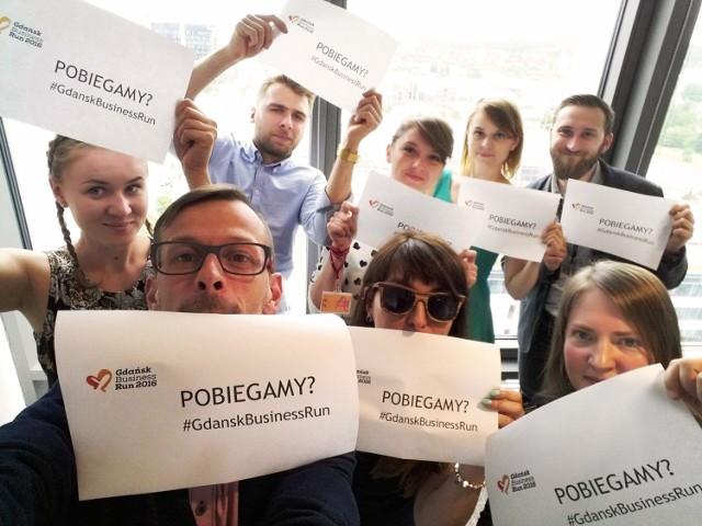 Do Gdańsk Business Run dołączają się całe zespoły z firm