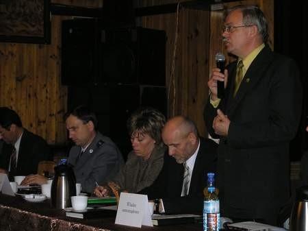 Marek Jankowski, burmistrz Czerska, kilka dni przed doniesieniem do prokuratury o sfałszowanie podpisu, sugerował, że zrobił to Robert M. z PiS. Fot. Maria Sowisło