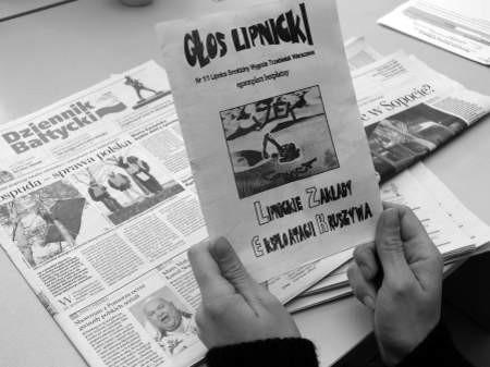"""""""Głos Lipnicki"""" to nowa broń w walce z kopalniami kruszywa. Fot. Marcin Pacyno"""