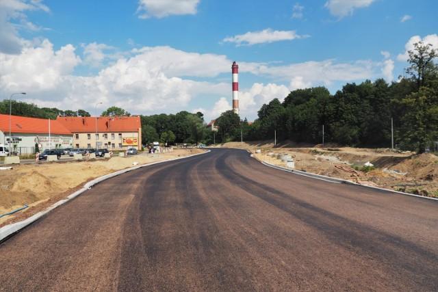 Budowa obwodnicy Wałbrzycha, sierpień 2020