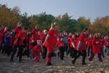 Gdańsk Biega: Na plaży w Brzeźnie zebrało się ponad 2 tys. osób