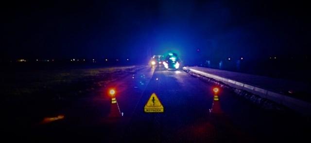 Gmina Witkowo. Wypadek motocyklisty na remontowanej drodze