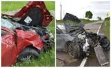 Poważny wypadek na DK 20 koło Wygody. Cud, że nikt nie zginął [ZDJĘCIA I WIDEO]