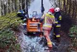Gdyby nie ugasili pożaru maszyny, mógł zapalić się górski las koło Mszany Dolnej