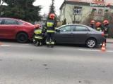 Wypadek czterech aut w Pszowie. Powód? Brak bezpiecznej odległości