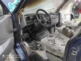 Płonął osobowy bus. Strażacy w akcji pod Goleniowem