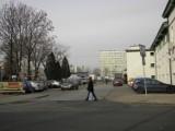 Ulica Muzealna w Żorach w stronę GS-u