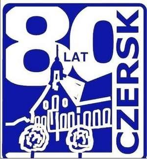 Oficjalne logo 80-lecia nadania Czerskowi praw miejskich. Fot. archiwum