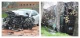 AKTUALIZACJA: Wypadek osobówek w Bożacinie. Jedna osoba trafiła do szpitala [ZDJĘCIA]