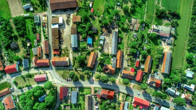 Centrum wsi.