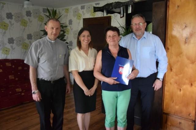 Starościną tegorocznych dożynek w gminie Czerniejewo została pani Anna Owczarzak z Pakszyna