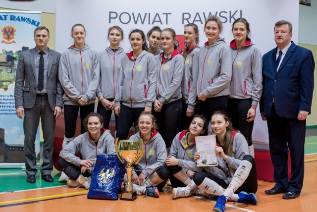 """""""Łaskovia"""" Łask - zwyciężczynie rawskiego turnieju"""