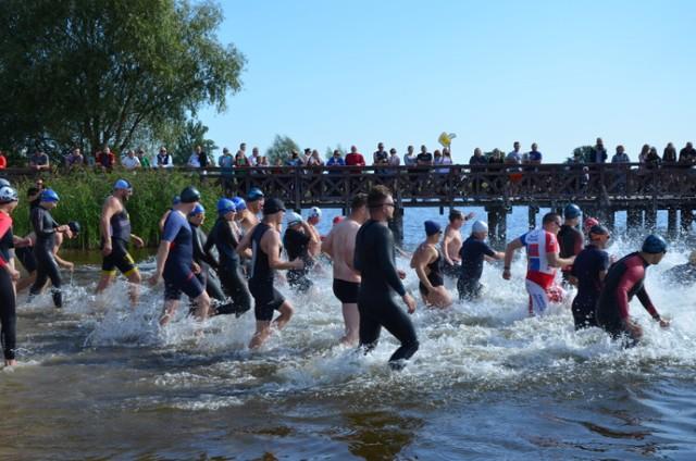 Zawody triathlonowe Lewin Brzeski 5.09.2021r.