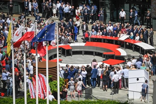 Nowy Okrągły Stół był wielokrotnie w centrum wydarzeń podczas gdańskich obchodów rocznicy wyborów 4 czerwca