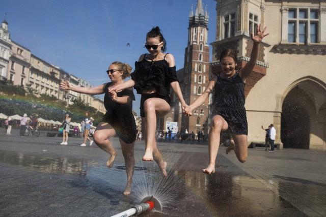 Pogoda w Krakowie. Będzie upalnie i burzowo
