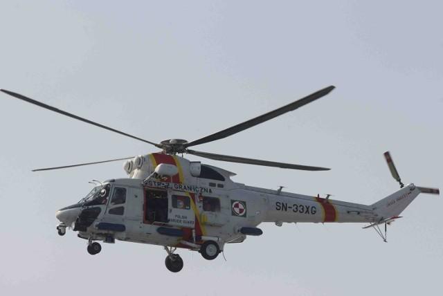 """Na lotnisku Marynarki Wojennej w Gdyni w gotowości do startu będzie załoga śmigłowca ratowniczego W-3RM """"Anakonda"""""""