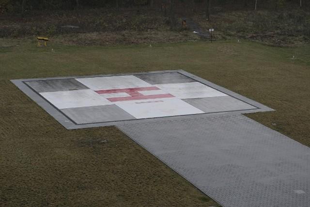 Na terenie powiatu helikoptery mogą lądować przy szpitalu w Puszczykowie