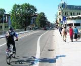 Most Przyjaźni w Cieszynie przyjazny rowerom?