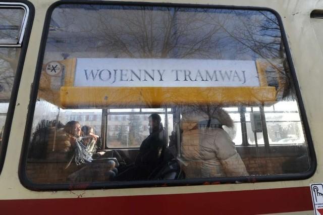 Wojenny tramwaj kursował wczoraj po ulicach Poznania