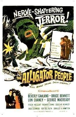 """Plakat z filmu """"Ludzie Aligatory"""""""