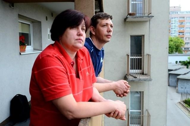 - Jesteśmy zadowoleni, że miasto zainteresowało się  w końcu naszym problemem - mówią Violetta i Cezary Wielgosz