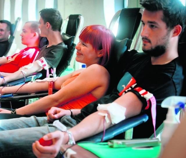 Wakacyjne akcje krwiodawstwa ratują życie wielu ludziom
