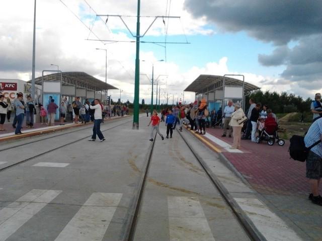 Ruszyły tramwaje na Franowo