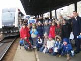 Dzieci jeździły drezyną po stacji Poznań [ZDJĘCIA]