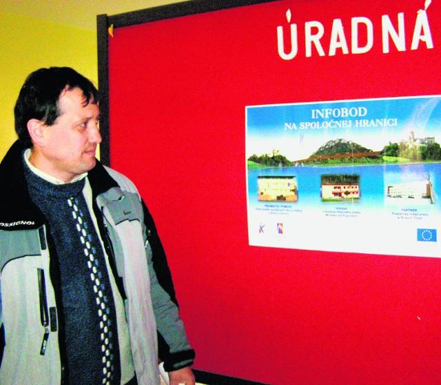 Starosta Peter Żemba będzie gospodarzem biura