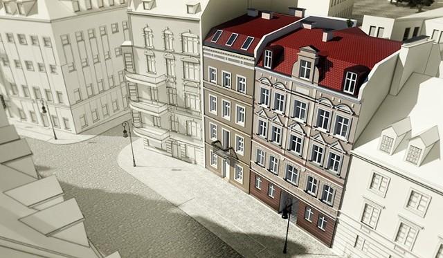 Z dwóch kamienic po rewitalizacji powstanie jeden budynek z 22 mieszkaniami