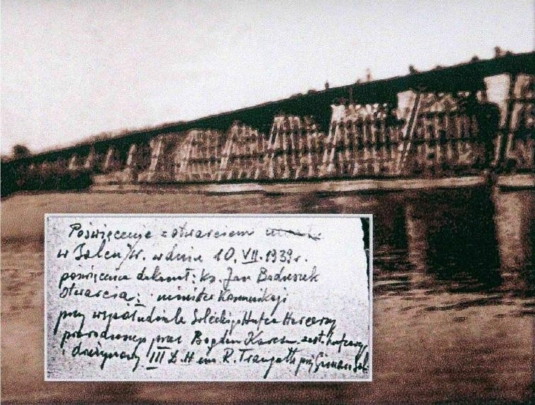 10 VII 1939 r. Poświęcenia dokonał ks. Jan Boduszek, otwarcia - minister komunikacji