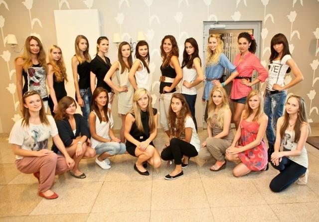 Dziewczyny walczą o tytuł modelki The Look of The Year Poland