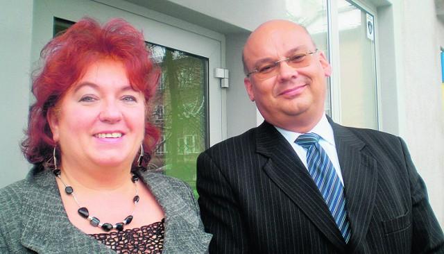 Maria Góra i Jacek Bojdoł cieszą się, że ośrodek zdrowia już wkrótce będzie otwarty