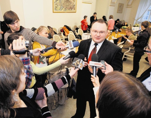 Pod koniec grudnia dr Łapka pojawił się ze swoim wynalazkiem w większości mediów