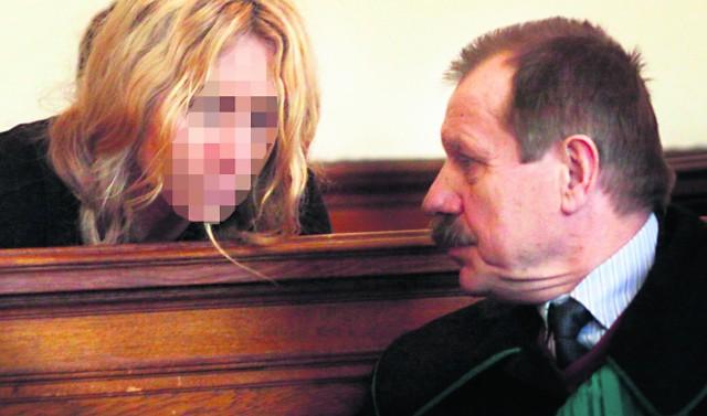 Jolanta W.-K., podejrzana o zamordowanie konkubenta, ma 50 lat. Wygląda jednak na znacznie mniej.