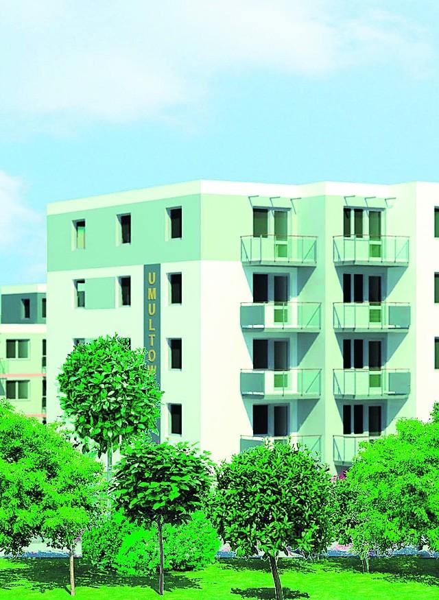 Mieszkania będą miały od 36 do 50 metrów kw.