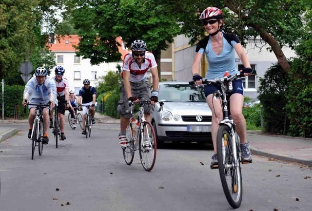 Dziewięcioro Polonusów z Wielkiej Brytanii na trasę rajdu rowerowego wystartowało z Gdańska