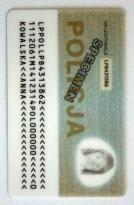 Od 1 stycznia 2012 roku obowiązują nowe legitymacje policji.