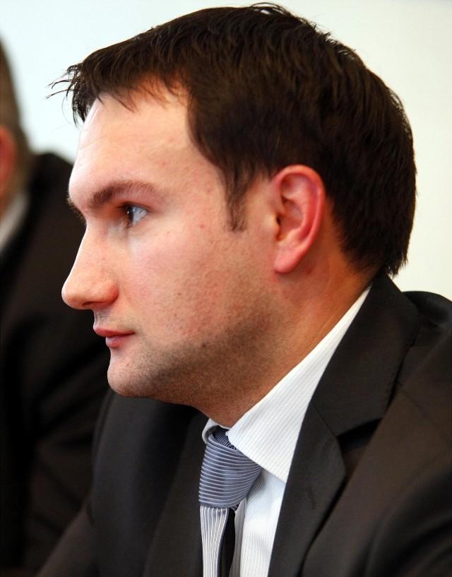 Radny Tomasz Lewandowski ponownie został w sobotę szefem SLD w Poznaniu