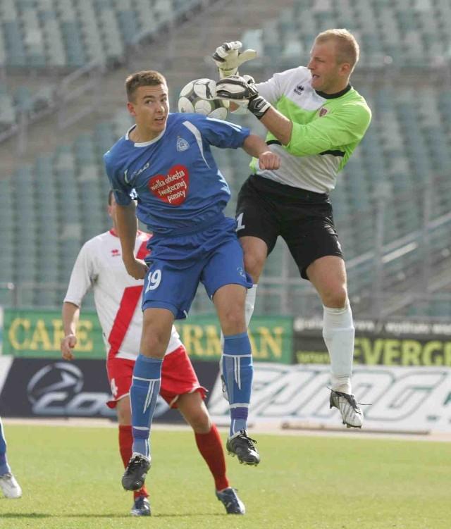 W niedzielę na Stadionie Śląskim grali piłkarze Ruchu i Piasta
