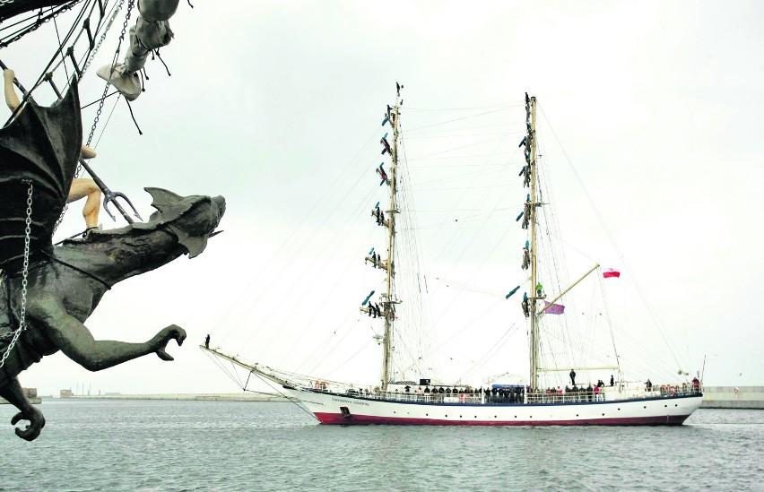 W Stoczni Marynarki Wojennej w Gdyni zbudowano kadłub żaglowca Fryderyk Chopin