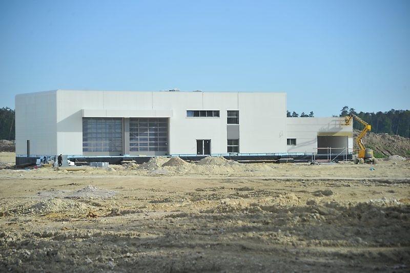 Trwa budowa lotniska w Świdniku